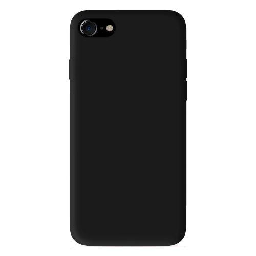 Acheter coque silicone gel Apple iPhone 7 couleur Noir , Jaune , Gris , Bleu Foncé