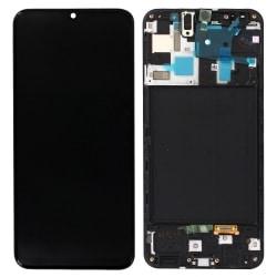 acheter Écran Samsung Galaxy A50 (A505F) Noir + Châssis D'Origine