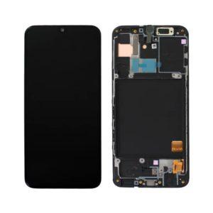 acheter Écran Samsung Galaxy A40 (A405FN) Noir + Châssis D'Origine