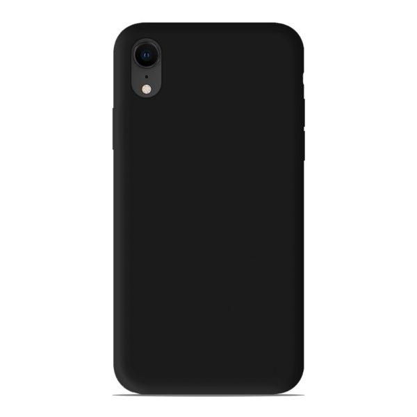 acheter coque silicone gel Apple iPhone XR couleur Noir, Jaune , Gris , Bleu Foncé