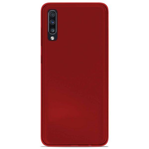 acheter Coque Silicone Samsung A50 , noir , rouge