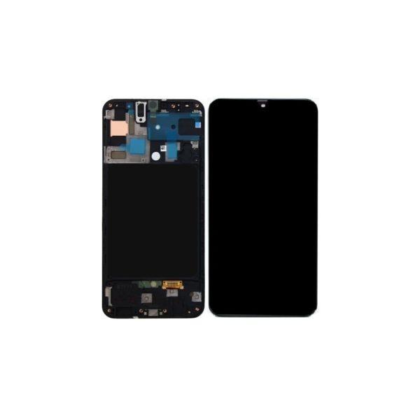 acheter Écran Samsung Galaxy A71 (A715F) Noir + Châssis Oled