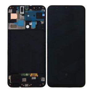 acheter Écran Samsung Galaxy A50 (A505FN) Noir + Châssis Oled