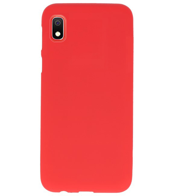 acheter Coque Silicone Samsung A10 , noir , saumon , rouge
