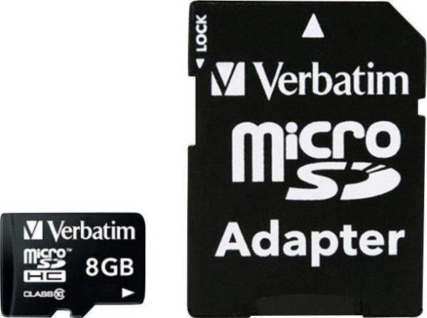 acheter carte mémoire 8Gb