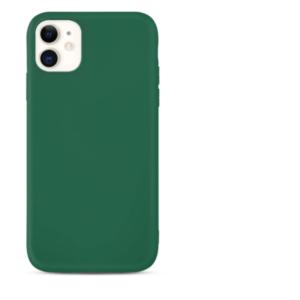 acheter coque silicone gel Apple iPhone 12 Mini couleur Noir, Jaune , Gris , Bleu Foncé