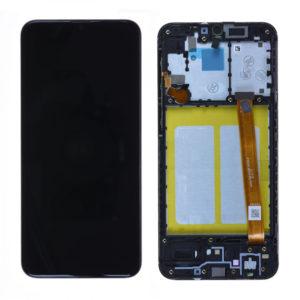 acheter Écran Samsung Galaxy A20E (A202F) Noir + Châssis D'Origine