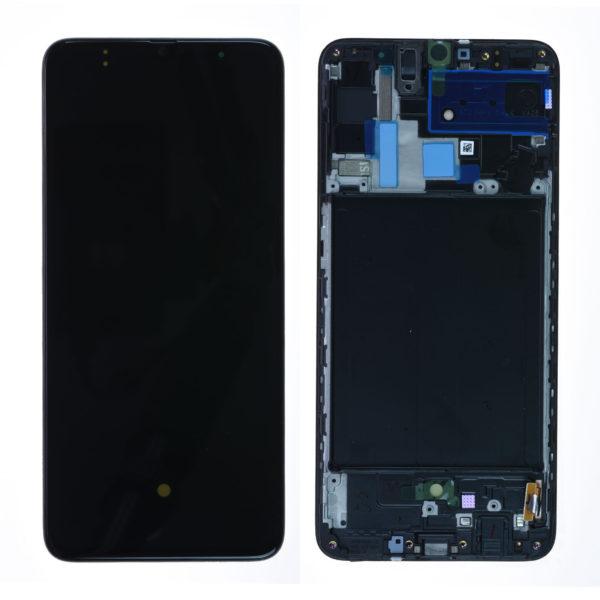 acheter Écran Samsung Galaxy A70 (A705F) Noir + Châssis Oled